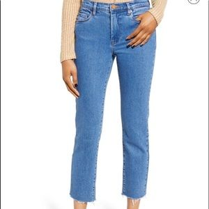 BLANKNYC The Madison Straight Crop Jeans